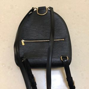 Louis Vuitton black epi leather back pak